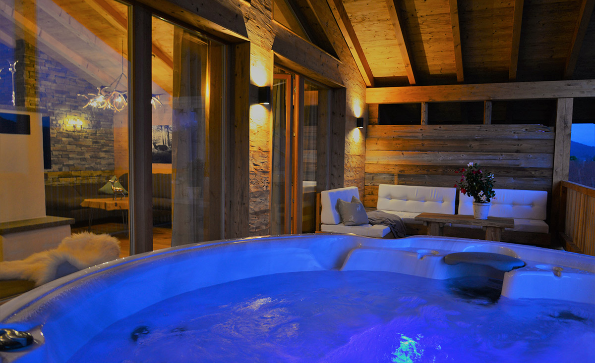 Hot Tube Chalets Bayern