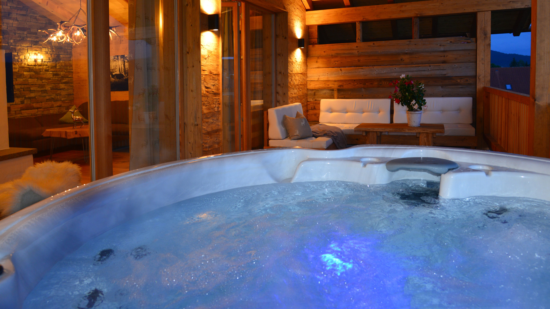 Private Spa Chalets